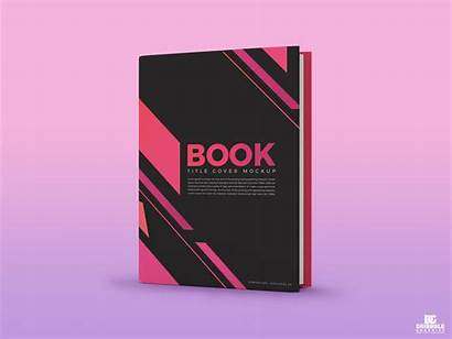 Mockup Title Psd Template Dribbble Mockups Books