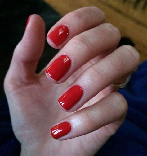 25+ Best Ideas about Red Shellac Nails on Pinterest | Red ...