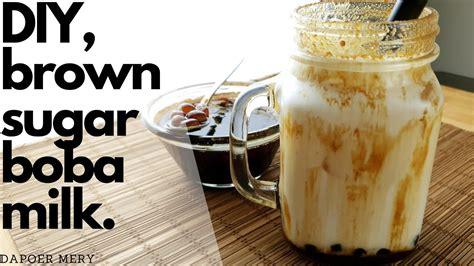 Resep Tiger Striped Brown Sugar Boba Milk Recipe INDO/ENG ...