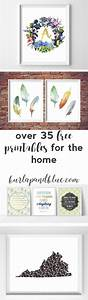 Best decor hacks over free printables for the home