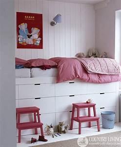 Ikea Mädchen Bett : bed nachbauen pinterest kinderzimmer bett und hochbetten kinderzimmer ~ Cokemachineaccidents.com Haus und Dekorationen