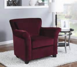 living room burgundy accent chairs living room table