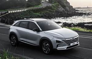 Hyundai Hybride Suv : hyundai gives first look at new fuel cell powered suv ~ Medecine-chirurgie-esthetiques.com Avis de Voitures
