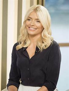 Holly Willoughby At  U201cthis Morning U201d Tv Show In London
