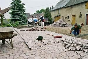 Wegebau Pflasterarbeiten