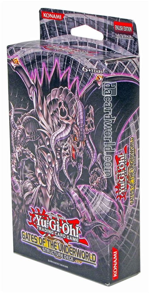 Gates Of The Underworld Structure Deck by Konami Yu Gi Oh Gates Of The Underworld Structure Deck