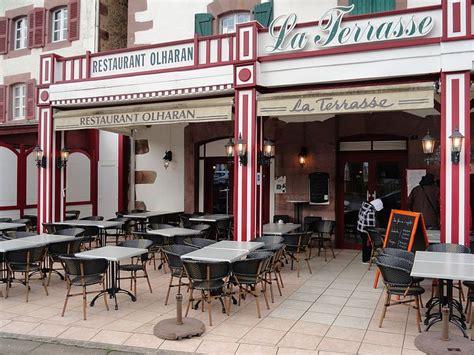 restaurant du trinquet caf 233 la terrasse pmu 224 jean pied de port 64 restaurants