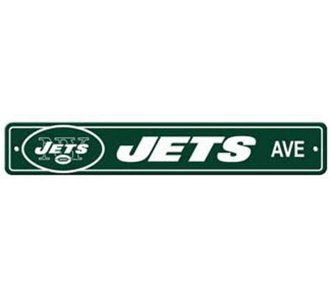 New York Jets Ave Street Sign 4