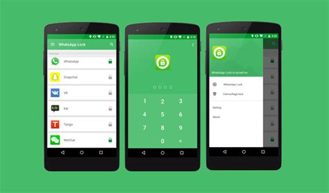 app locks for android top 5 best free whatsapp lock apps for android