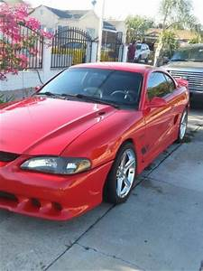 Purchase used 94 MUSTANG GT 5.0 V8 RED SALEEN ( REPLICA) POWER SEATS & WINDOWS in Inglewood ...