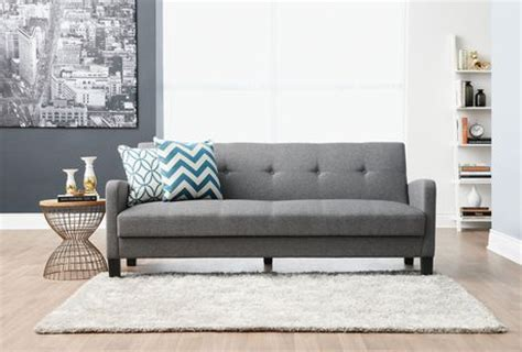sofa bed walmart canada hometrends grey futon sofa bed walmart ca