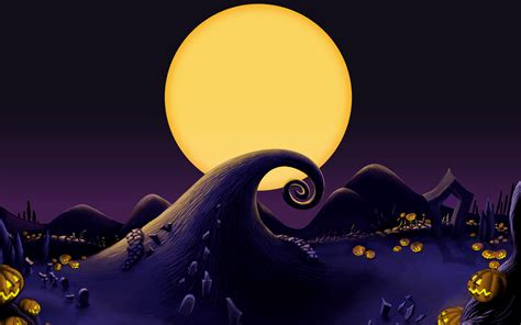 Background And Sally by Nightmare Before Wallpapers Desktop Wallpaper Cave