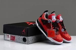 Cheap Air Jordan 4 Limited Edition Super Bulls Retro Red ...