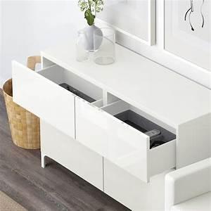 Ikea Besta Schublade : best aufbewkomb t ren schubladen wei selsviken hochglanz wei ikea ~ Watch28wear.com Haus und Dekorationen