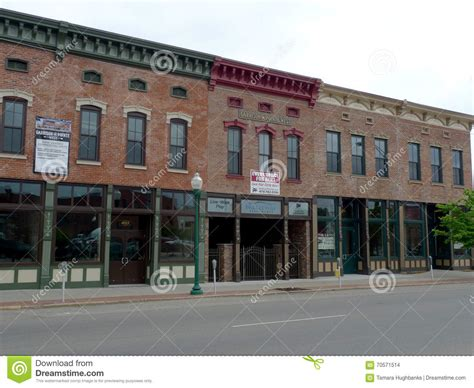 Sofa City Fort Smith Ar Commercial by Downtown Fort Smith Ar Buildings Editorial Stock Image