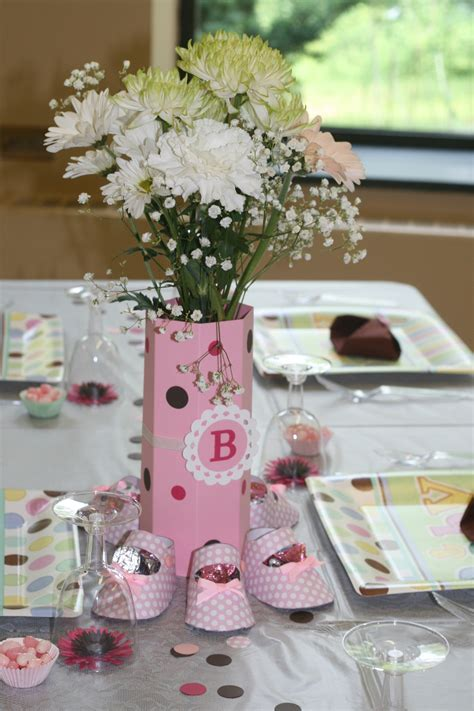 Ideas Awesome Baby Shower Centerpieces For Tables Design