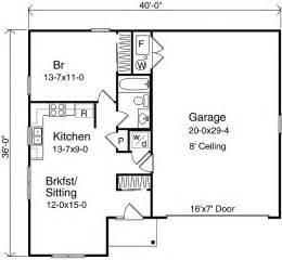 garage floor plans with apartment plan w2225sl one garage apartment e architectural design