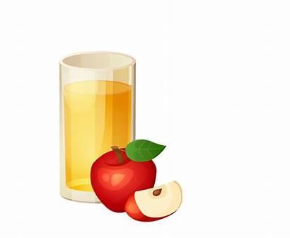 Apple Clipart Cider Juice Donuts Clip Cartoon