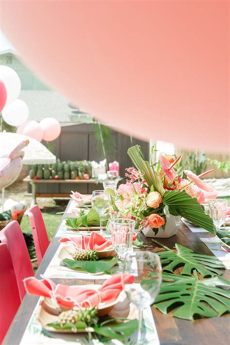 birthday party ideas and tips guest post mimi 39 s kara 39 s party ideas tropical birthday party kara 39 s party