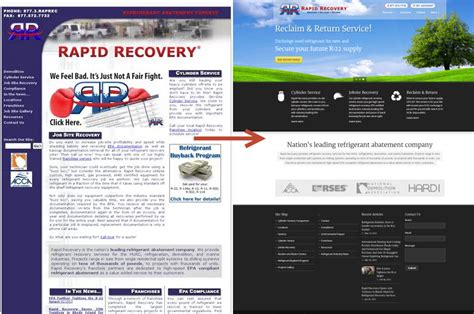 Rapid Recovery  New Marketing Website Launched Rapid