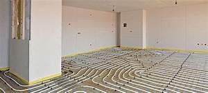Sol Chauffant Électrique : installer un plancher chauffant lectrique ~ Melissatoandfro.com Idées de Décoration