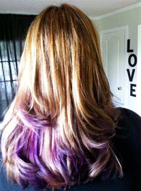 17 Best Images About Blonde To Purple Ombre On Pinterest