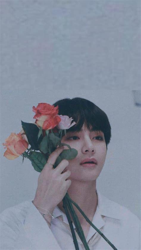aesthetic photoshoot bts taehyung