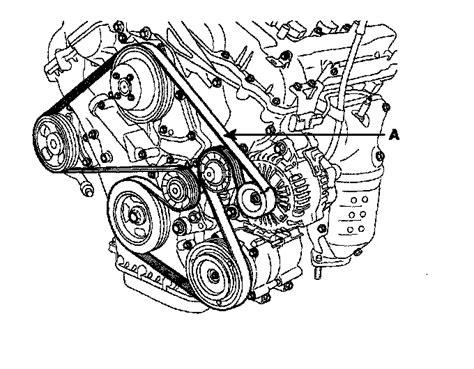 Need Diagram For Kia Sedona Serpentine Belt
