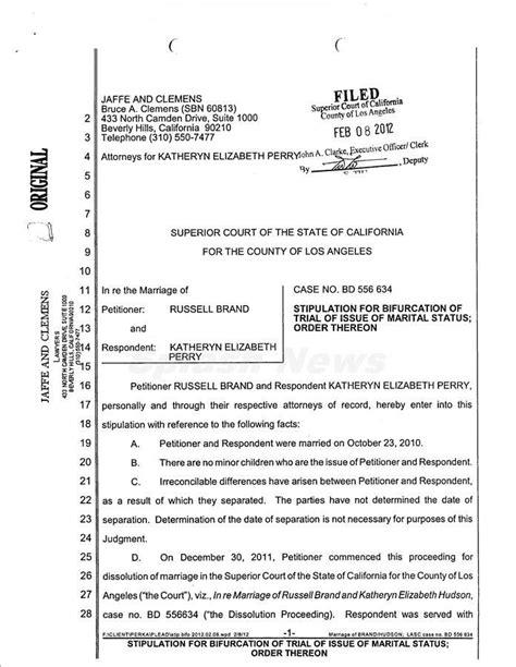 printable sample divorce documents form business letter