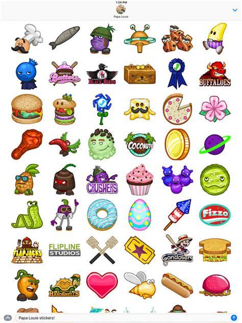jeux de cuisine papa cupcakeria app shopper papa louie stickers stickers