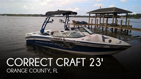 Nautique Boats For Sale Orlando by Sold Correct Craft Air Nautique 230 Boat In Orlando