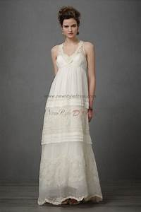 vintage bohemian attractive informal embroidered beading With casual vintage wedding dresses