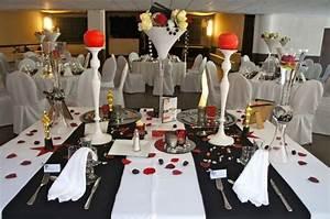 D Day Deco : mariage cin ma rouge noir blanc mariages th mes la ~ Zukunftsfamilie.com Idées de Décoration