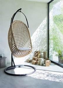 Fauteuil Suspendu Osier : 10 bijzondere fauteuils in huis ~ Teatrodelosmanantiales.com Idées de Décoration