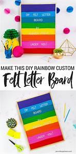 Diy felt letter board signs felt and how to make for Felt letter sign