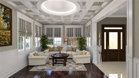Coffered Ceiling Vs Waffle Ceiling by Coffered Waffle Ceilings Accent Haus Custom Interior