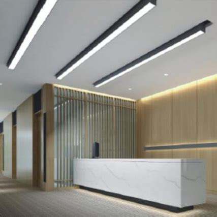 china 3 years warranty ceiling mounted led linear light