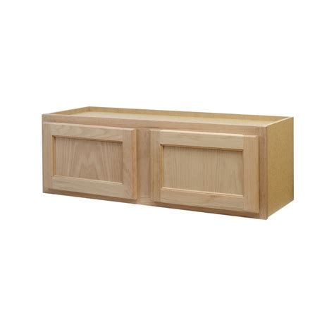 lowes unfinished wall cabinets shop continental cabinets inc 36 in w x 12 in h x 12 in