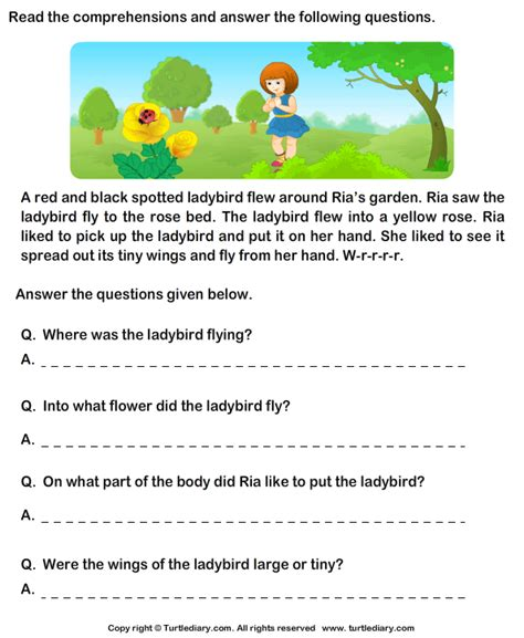 all worksheets 187 worksheets on comprehension for grade 1