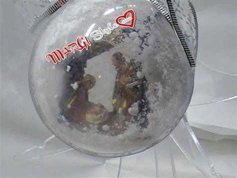 Come decorare una sfera plexiglass effetto neve   YouTube