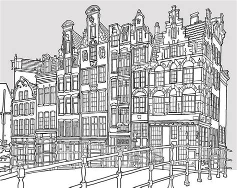 Fantastic Cities Is An Architecturethemed Coloring Book