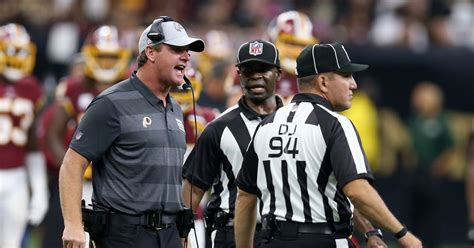 nfl fires ref  missed easy call  browns game