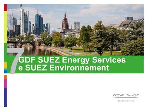 gdf suez si鑒e social gdf suez presentazione 2014