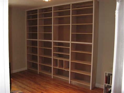 do it yourself built in bookcase plans pdf diy free builtin bookcase plans download free plan