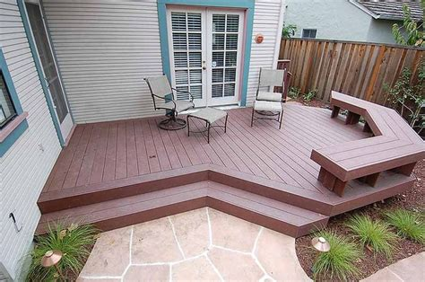 Step Down Deck Designs