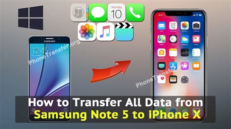 iphone to samsung transfer how to transfer all data from samsung note 5 to iphone x