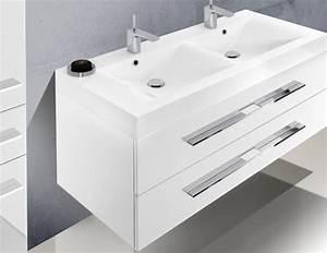 Doppelwaschtisch 160 Cm Mit Unterschrank : design badezimmerm bel set mit doppelwaschtisch 120 cm 614 ~ Frokenaadalensverden.com Haus und Dekorationen