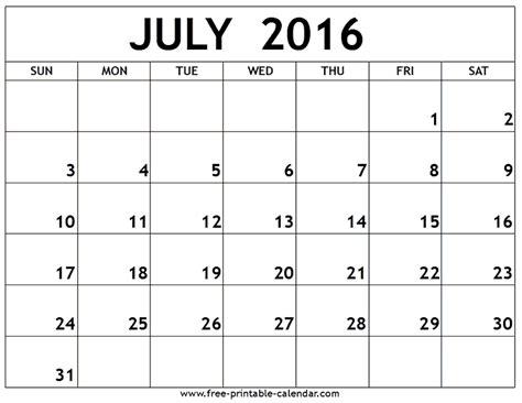 july calendar template july 2016 printable calendar summertime printable calendars 2016 calendar and
