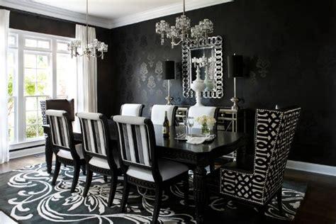 reasons  black dining tables work   interior