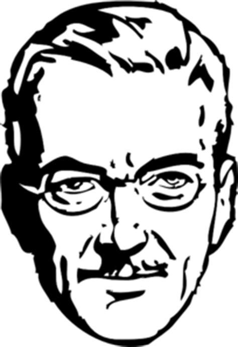 man wearing glasses clip art  clkercom vector clip